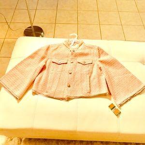 Tweed Jacket/Dressy/ Casual/Fall